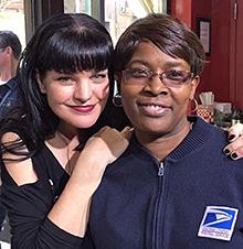 TV star Pauley Perrette praises New York carrier