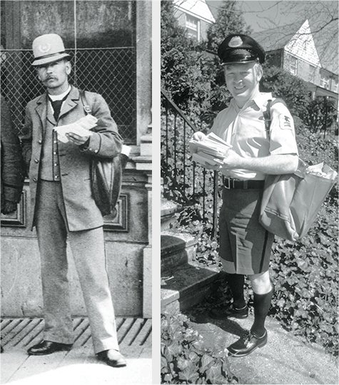 USPS: Postal Uniforms Change With The Times
