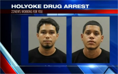 Video: Police conduct a drug bust at the Holyoke, MA post office