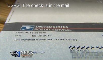 Video: The check is in the mail – Postal Employee Network