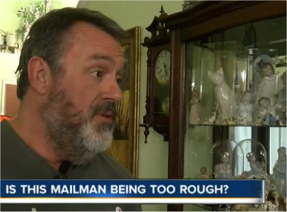 Video: Tossing a fragile package: Do you think the mail man is in the wrong?