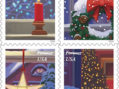 Holiday Window Views Featured on Forever Stamps