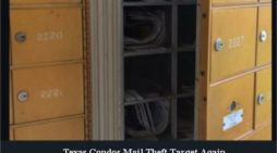 Video: North Dallas condos targeted again by mail thieves