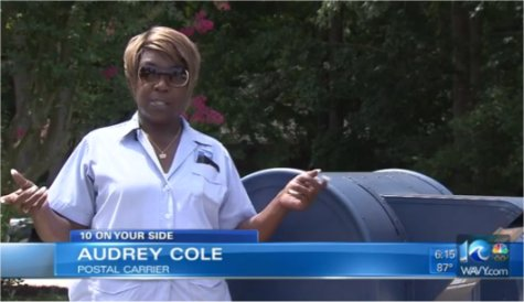 Video: Paying it forward: Virginia postal employee goes above and beyond