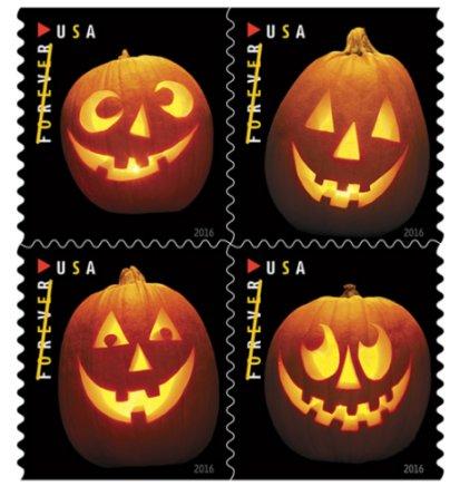 USPS Statement on Jack-o'-lanterns Stamp Defect
