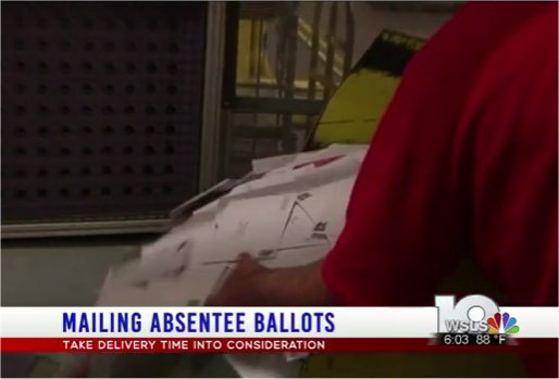 Video: Postal service changes may increase absentee ballot delivery time