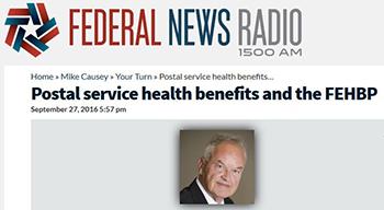Rolando letter addresses postal reform issues raised on a recent radio program