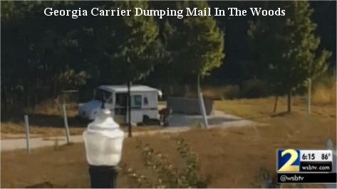 Video: Piles of mail dumped in Georgia woods; USPS investigating