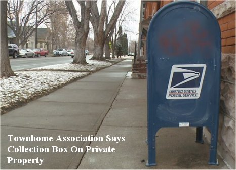 Video: Infamous Denver mailbox has to be moved AGAIN