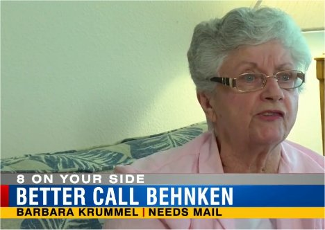 Video: Woman not getting mail says postal officials said her address in Zephyrhills, FL doesn't exist