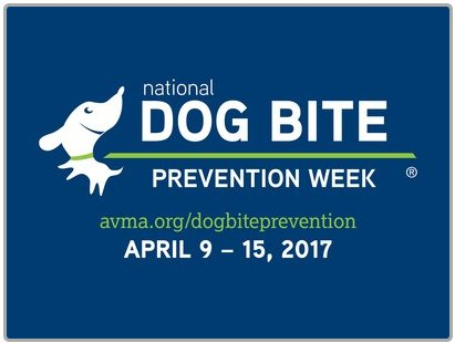 National Dog Bite Prevention Week has moved to April 9-15