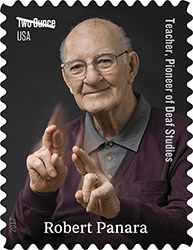Robert Panara: Teacher and Pioneer of Deaf Studies to be Immortalized on a Stamp