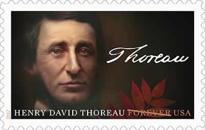 Writer, Philosopher and Naturalist Henry David Thoreau to be Commemorated on a Forever Stamp