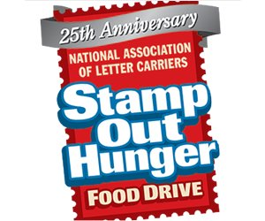 Video: The 25th annual Letter Carriers' Stamp Out Hunger® Food Drive Is Saturday, May 13, 2017