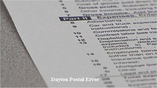 Video: Dayton tax returns bounce back after postal error