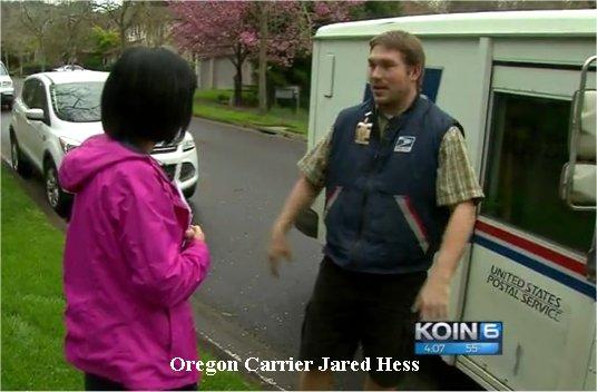Video: Oregon Letter Carrier Sees Smoke, Saves West Linn House