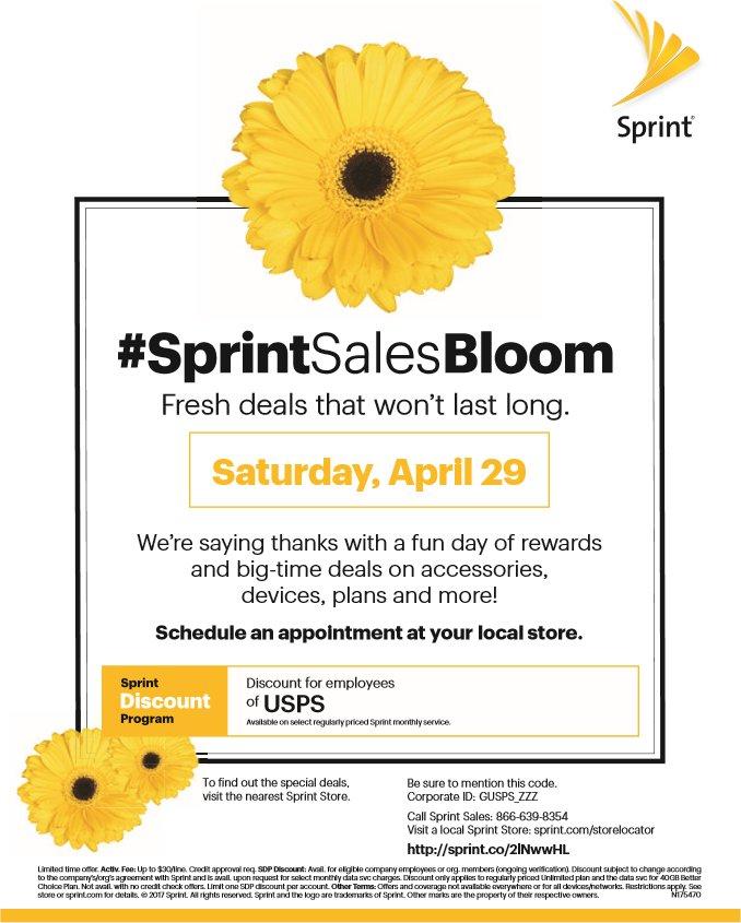 Sprint Sales Bloom This Saturday