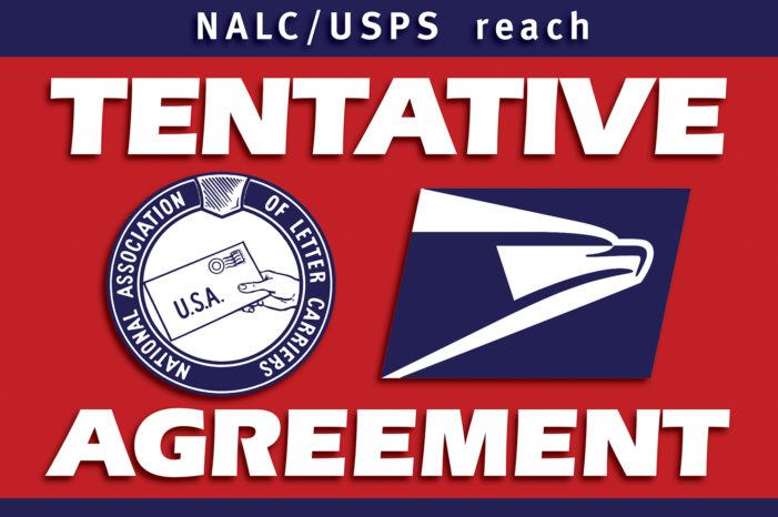 NALC and USPS Reach Tentative Agreement