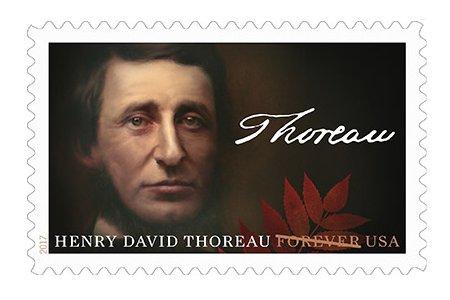 Postal Service Honors Henry David Thoreau