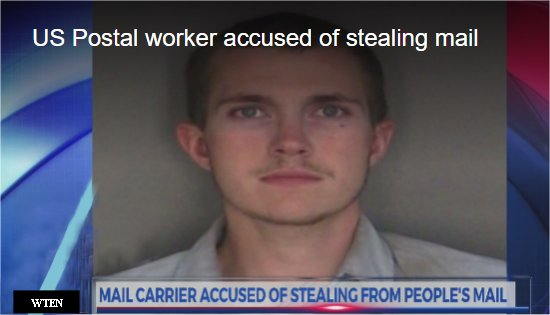 Video: New York letter carrier accused of stealing mail