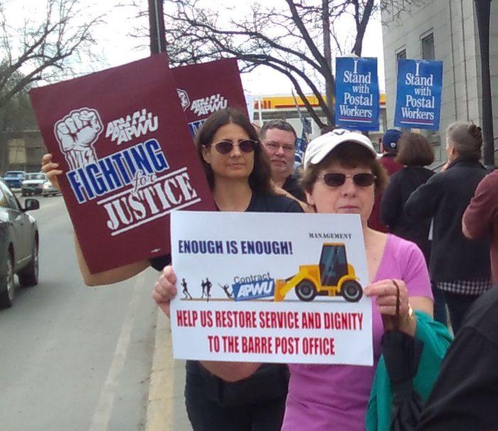 'Enough is Enough' – APWU Members Take it to the Streets