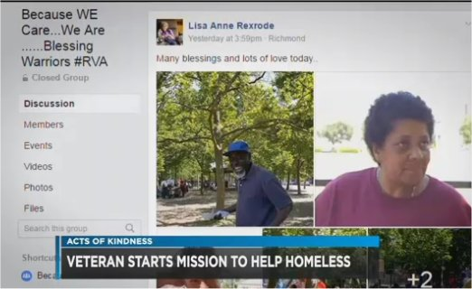 Video: Retired Postal Service Employee Devotes Her Life To Serving The Homeless