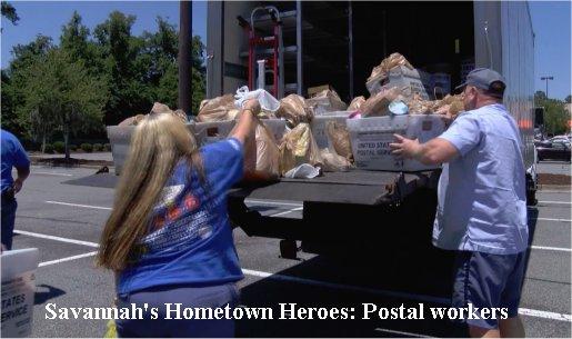 Video: Savannah's Hometown Heroes: Postal workers