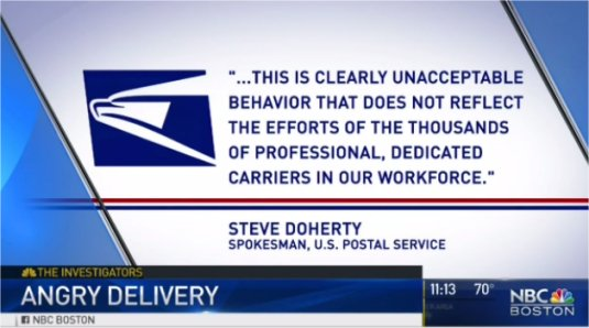 Video: Angry Delivery – Massachusetts Mail Carrier Caught on Camera Cursing, Throwing Package
