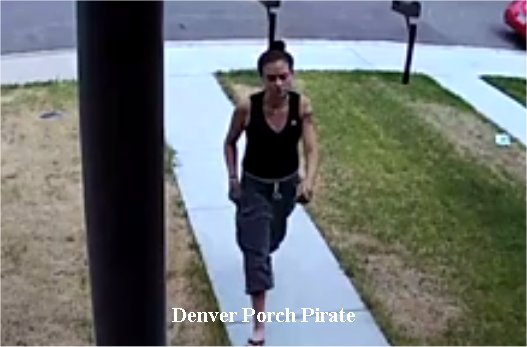 Denver 'porch pirate' caught on camera stealing packages from disabled veteran