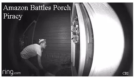 Video: Amazon takes new steps to deter porch pirates