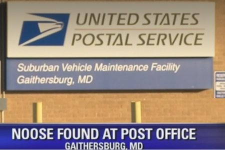 Rope found in shape of noose at Gaithersburg, MD post office
