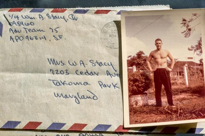 Vietnam War solider's lost letters returned