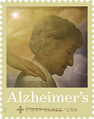 Postal Service Previews Alzheimer's Semipostal Fundraising Stamp Image