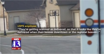 Utah Post Office employee claims delivery delays due to USPS misconduct