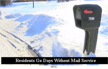 Newburgh, IN residents go days without mail service