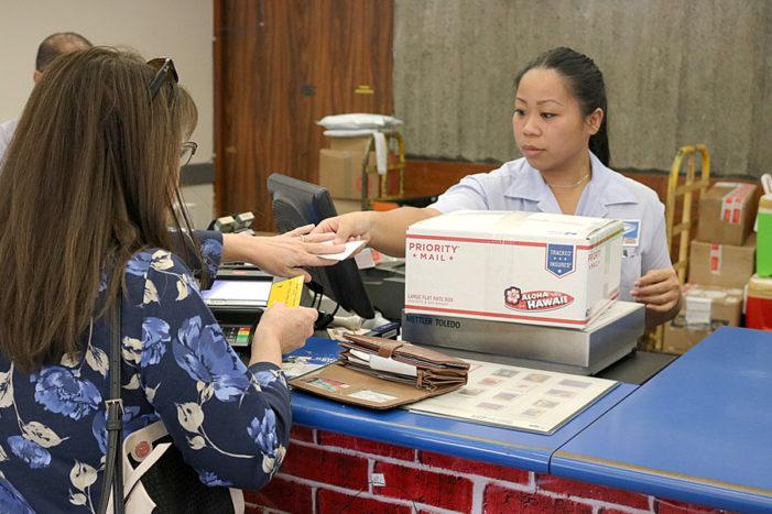 Postal Price Changes Take Effect Jan. 21, 2018