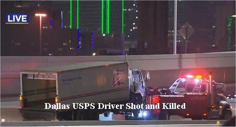 Video: Postal Service Driver Shot & Killed On Dallas Highway