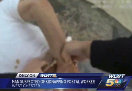 'Help me! He has a gun': West Chester postal worker describes kidnapping