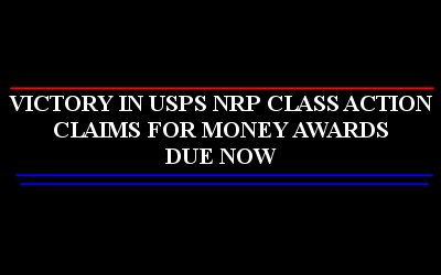 Victory In Usps Nrp Class Action Claims For Money Awards