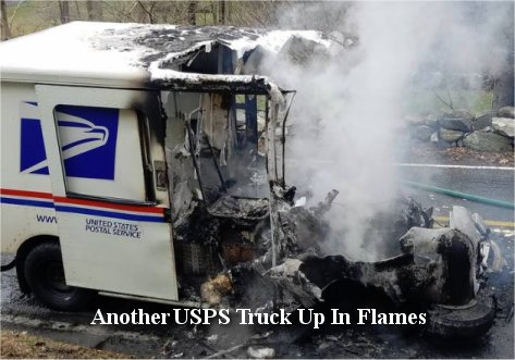 Valiant' Postal Carrier Burns Hand Saving Somers Mail – Postal ...