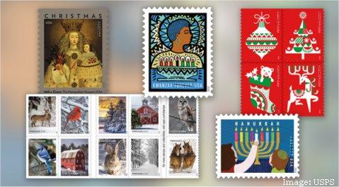 Usps Christmas Season 2020 USPS Announces New Holiday Stamps – Postal Employee Network
